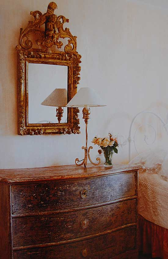 Aged And Gilded Palazzo Interiors Amp Gardens Mirror